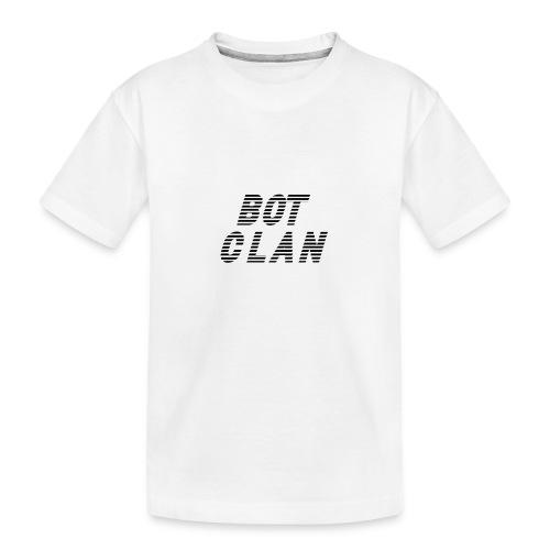 BOT CLAN MERCH - Teenager premium biologisch T-shirt