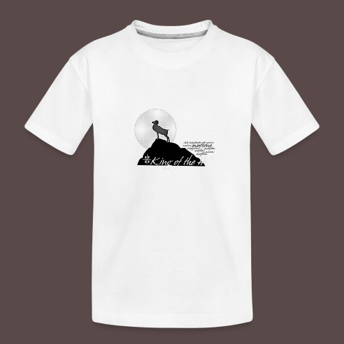 Muflone Halftone - Maglietta ecologica premium per ragazzi