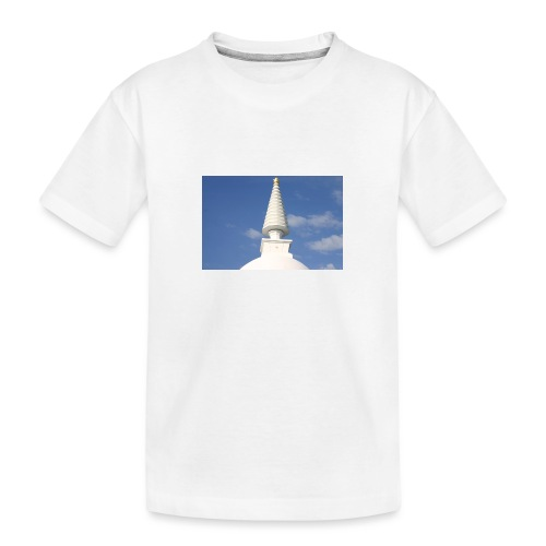 Stupa in Zalaszántó [2] - Teenager Premium Bio T-Shirt