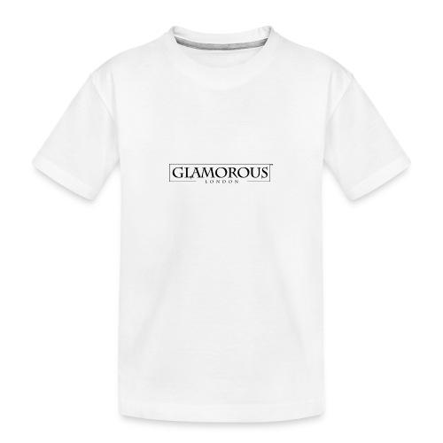 Glamorous London LOGO - Teenager Premium Organic T-Shirt