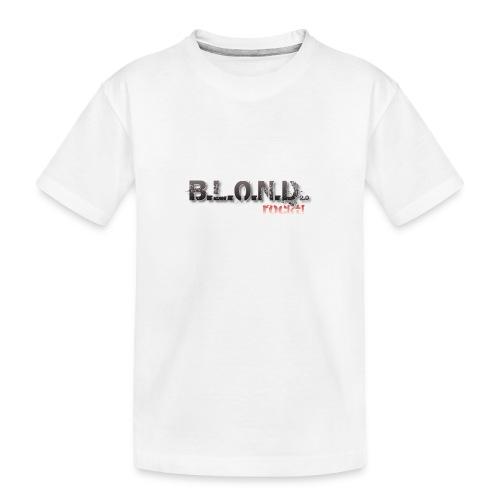 Logo 7000px png - Teenager Premium Bio T-Shirt