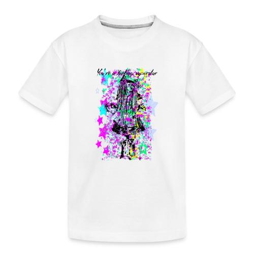 SUPERSTAR unisex - Camiseta orgánica premium adolescente