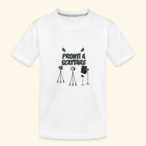 pronti a scattare - Maglietta ecologica premium per ragazzi