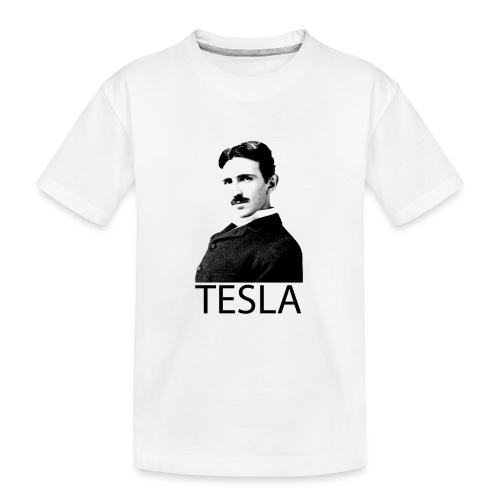 Tesla - T-shirt bio Premium Ado
