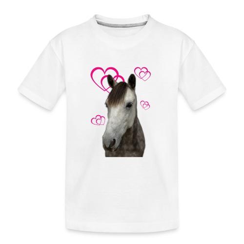 Hästälskare (Pilot) - Ekologisk premium-T-shirt tonåring