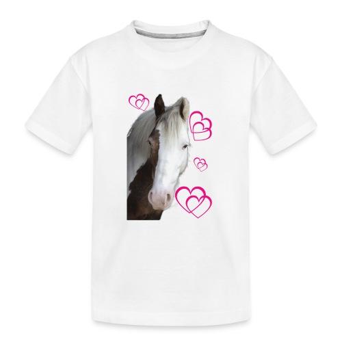 Hästälskare (Daisy) - Ekologisk premium-T-shirt tonåring