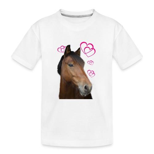 Hästälskare (Musse) - Ekologisk premium-T-shirt tonåring