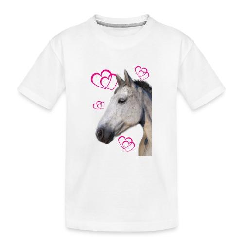 Hästälskare (maya) - Ekologisk premium-T-shirt tonåring