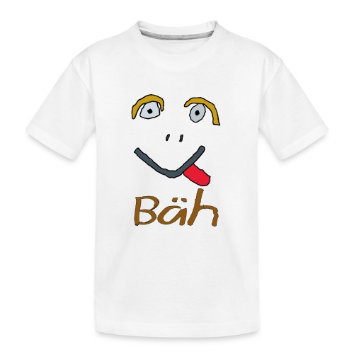 Gesicht Baeh - Teenager Premium Bio T-Shirt