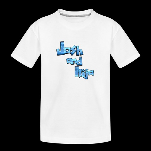 Josh and Ilija - Teenager Premium Organic T-Shirt