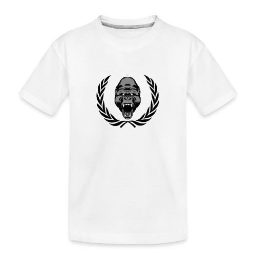 therealkingdomoficial - Camiseta orgánica premium adolescente
