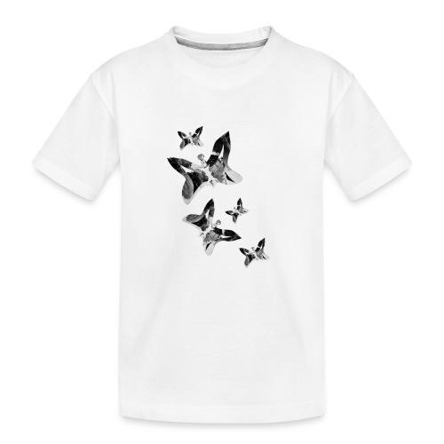 Schmetterlinge - Teenager Premium Bio T-Shirt