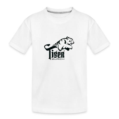 TIGER ZURICH digitaltransfer - Teenager Premium Bio T-Shirt