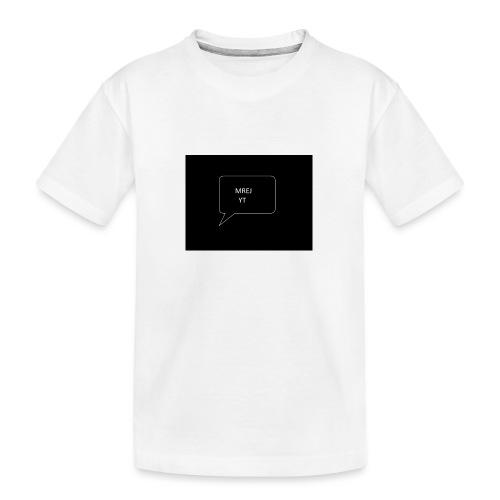 MREJYT T-sjorta - Premium økologisk T-skjorte for tenåringer