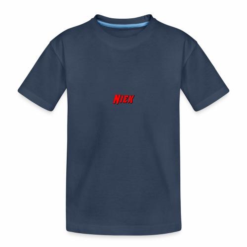 Niek Red - Teenager premium biologisch T-shirt