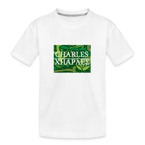 CHARLES CHARLES JUNGLE PRINT - LIMITED EDITION - Teenager Premium Organic T-Shirt