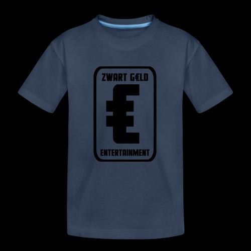 ZwartGeld Logo Sweater - Teenager premium biologisch T-shirt