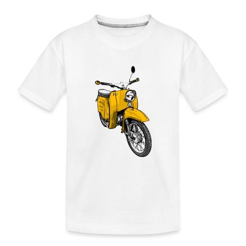 schwalbe gelb - Teenager Premium Bio T-Shirt
