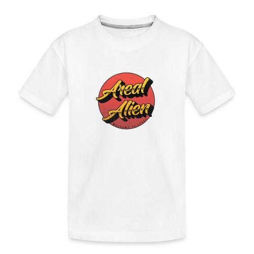 Alien Rusty Vintage Logo - Premium økologisk T-skjorte for tenåringer