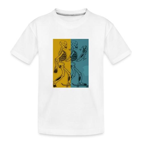Esqueleto skater: You are my structure! - Camiseta orgánica premium adolescente