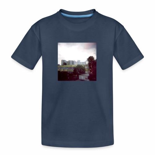 Original Artist design * Blocks - Teenager Premium Organic T-Shirt