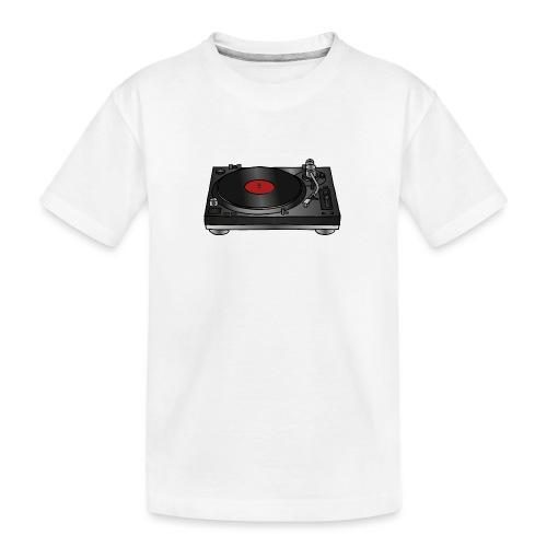 Plattenspieler VINYL - Teenager Premium Bio T-Shirt