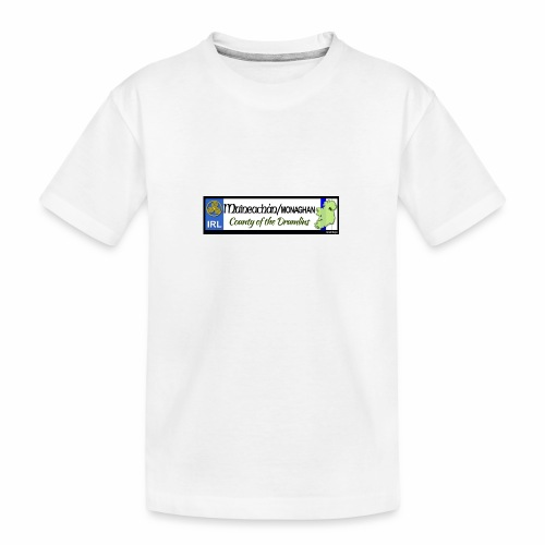 MONAGHAN, IRELAND: licence plate tag style decal - Teenager Premium Organic T-Shirt