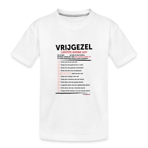 Laatste avond uit man - Teenager premium biologisch T-shirt
