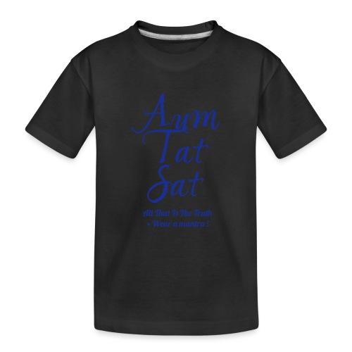 AUM TAT SAT - Maglietta ecologica premium per ragazzi