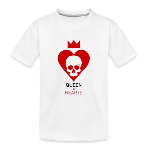 Tee shirt manches longues Reine des Coeurs - T-shirt bio Premium Ado