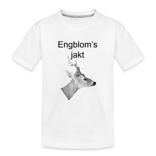 Officiell logo by Engbloms jakt - Ekologisk premium-T-shirt tonåring