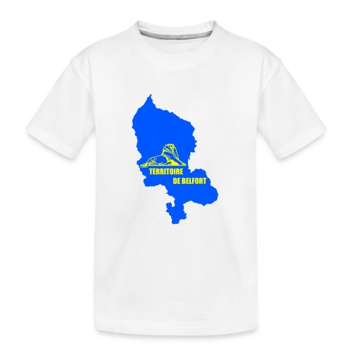 Territoire de Belfort + Lion PNG - T-shirt bio Premium Ado