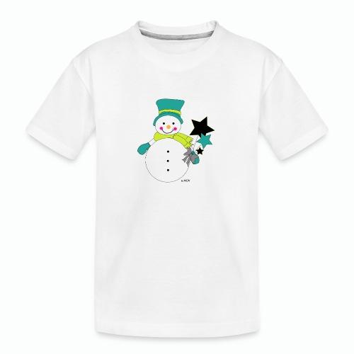 Snowtime-Green - Teenager Premium Bio T-Shirt