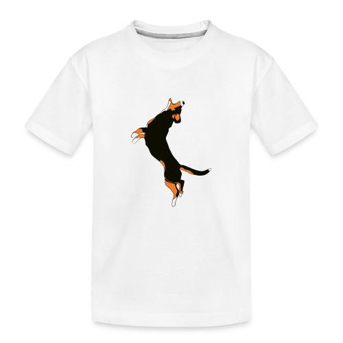 Entlebucher - Ekologisk premium-T-shirt tonåring