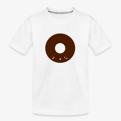 Happy Doughnut - Teenager Premium Organic T-Shirt