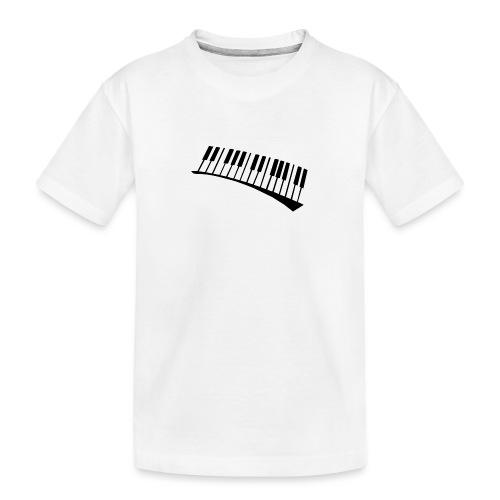Piano - Camiseta orgánica premium adolescente