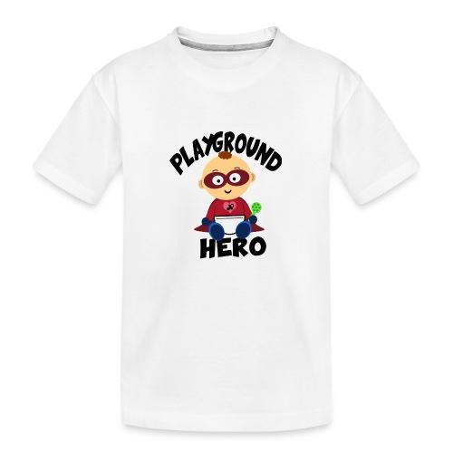 Playground Hero - Teenager Premium Bio T-Shirt