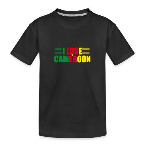 love cameroun - T-shirt bio Premium Ado