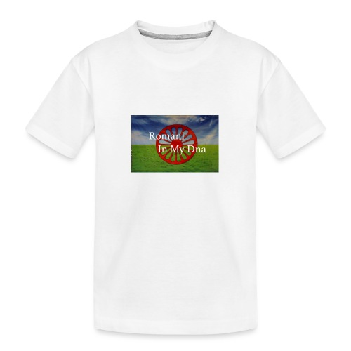 flagromaniinmydna - Ekologisk premium-T-shirt tonåring