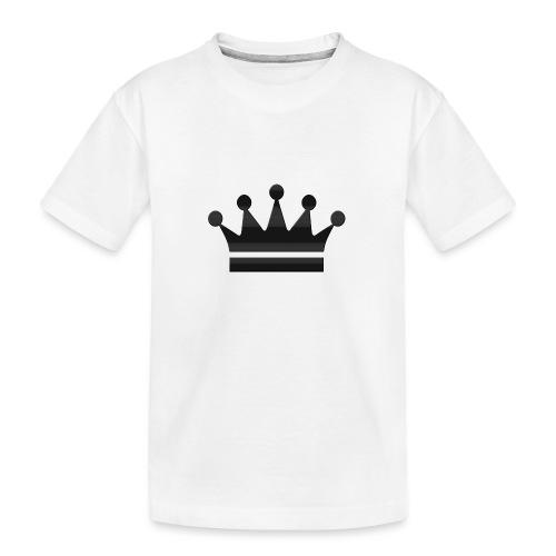 crown - Teenager premium biologisch T-shirt