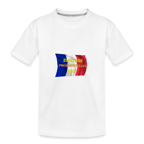 ELECTIONS 2017 - T-shirt bio Premium Ado