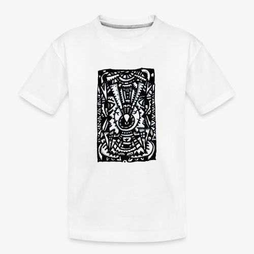 Eye-Eye by Brian Benson - Teenager Premium Organic T-Shirt