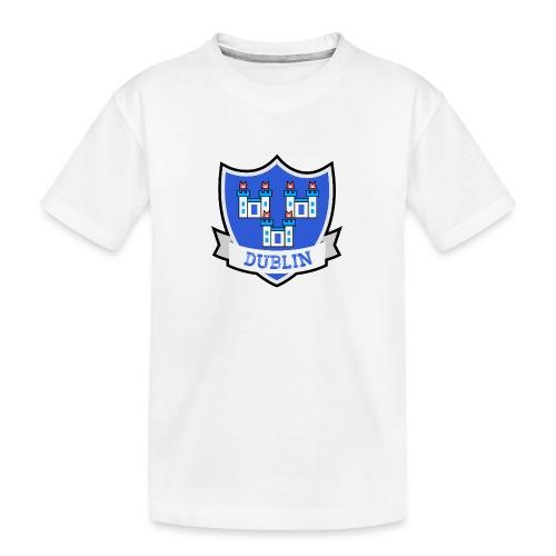 Dublin - Eire Apparel - Teenager Premium Organic T-Shirt