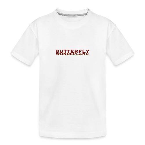 Butterfly Wonderland - Teenager Premium Bio T-Shirt