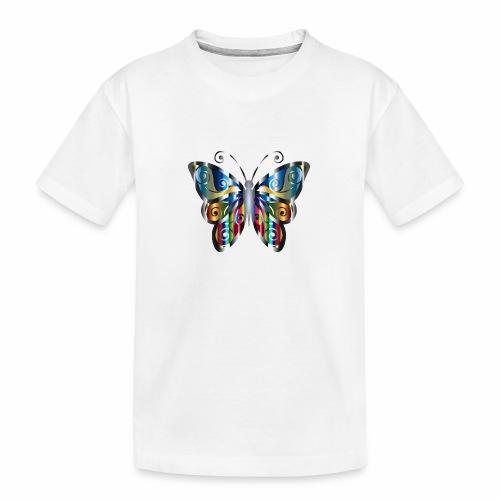 butterfly - Ekologiczna koszulka młodzieżowa Premium