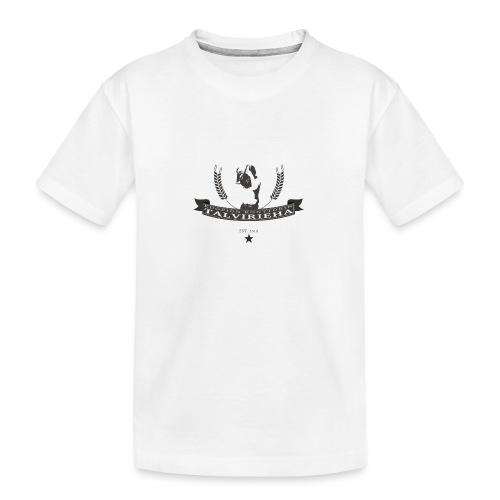 Talvirieha - Teinien premium luomu-t-paita