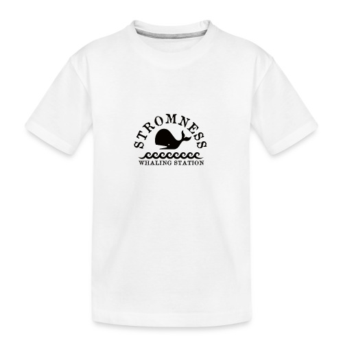 Sromness Whaling Station - Teenager Premium Organic T-Shirt