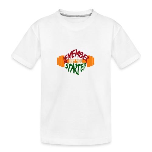 fitness draw - T-shirt bio Premium Ado