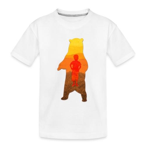 De Berenjongen - Teenager premium biologisch T-shirt