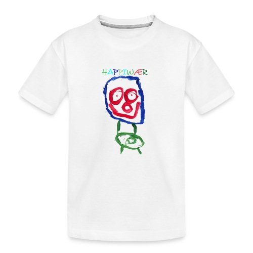 happiwær2 - Teenager premium T-shirt økologisk